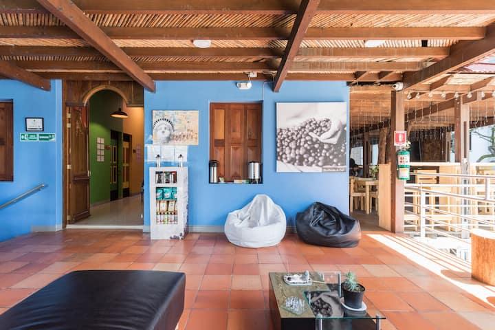 10 C Santa Cruz (Habitación Twin) Parceros