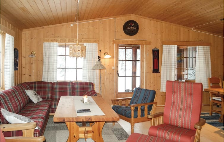 Holiday cottage with 3 bedrooms on 120 m² in Sjusjøen