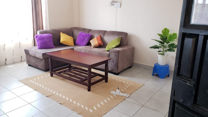 HomeyHome; apartment suitable for all stays.