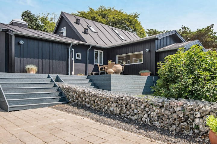 Fabulous Holiday Home in Bjert with Indoor Whirlpool