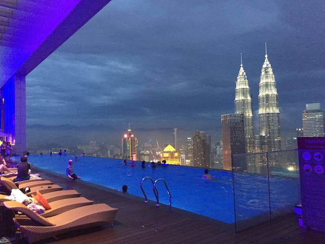 cheap hotel In KL Golden Triangle  Private Room