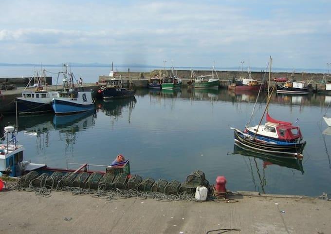Port Seton east of Edinburgh