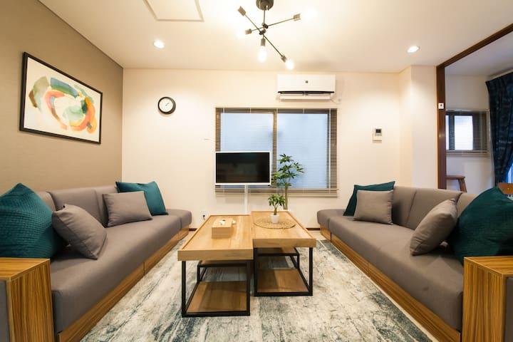Koiwa/Haneda direct access/3BDR House/Home Wi-Fi