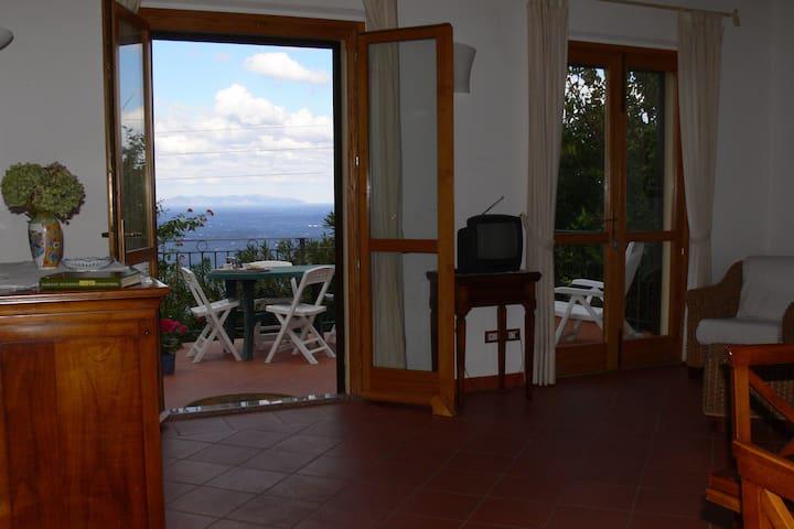 Casa all'Elba con vista del tramonto sulla Corsica - Zanca - Dom