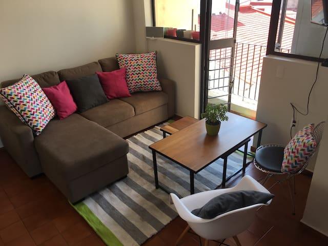 Estudio con excelente ubicación en Morelia - Morelia - Apartamento