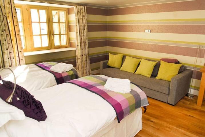 STUDIO BEDROOM/LIVING ROOM