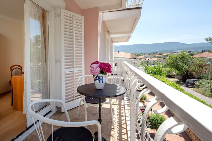 Villa Bozica - One Bedroom Apartment with Balcony - A6