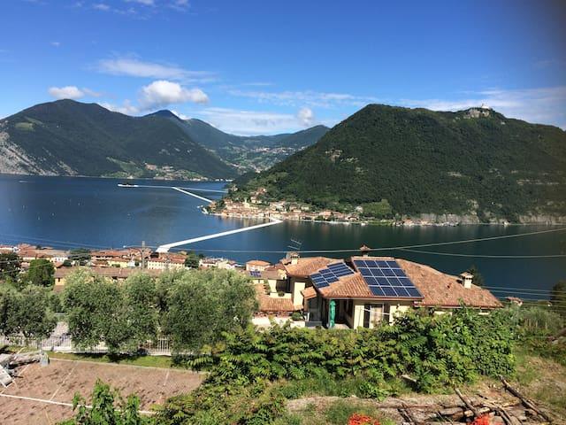 stanza a Sulzano con vista Lago - Tassano - Casa