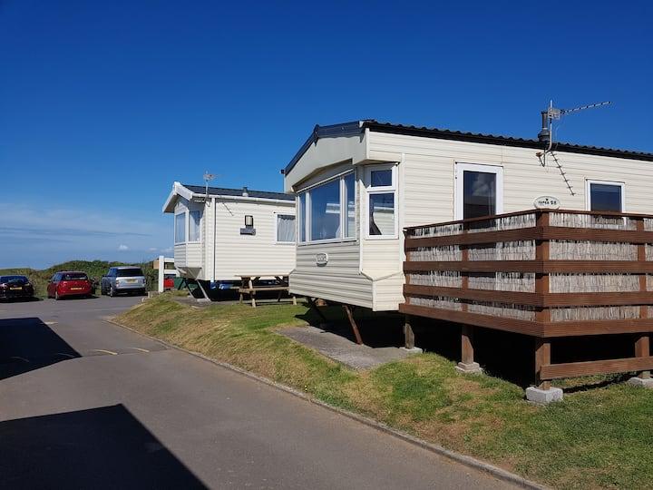 141 Beachside - 6 Berth Caravan With SEAVIEWS