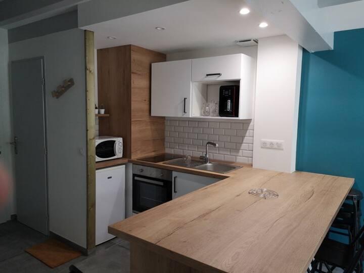 ANGLET : Duplex 6 personnes avec Piscine (A4)