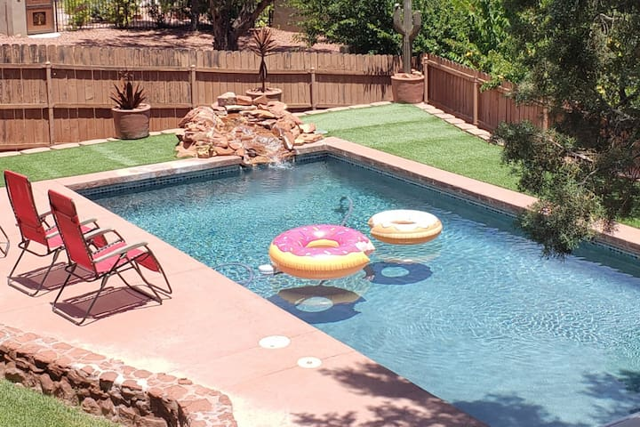 Pool & Yard w/ Great Views in perfect location.