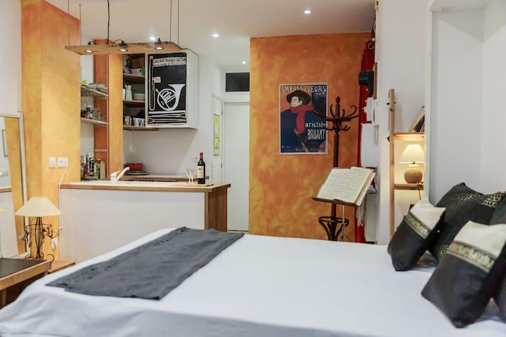 Boutique Studio à Montmartre pour 3