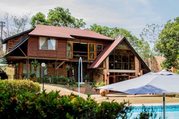 Hermosa casa de verano con piscina!!