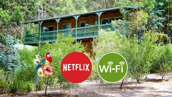 The Lookout - A Perfect Tree House: Wifi & Netflix