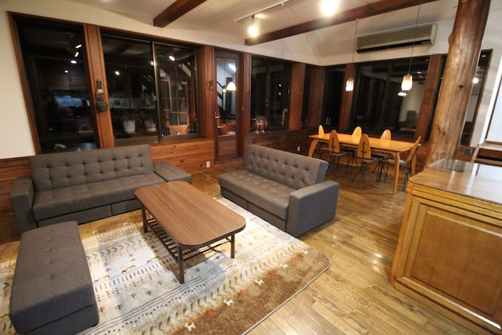 Bears House Condominium with 70 ㎡ living dining