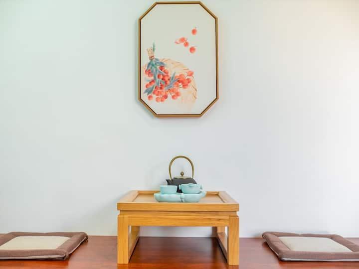 万峰景区#自在林民宿#空气花园#Loft庭院大床房