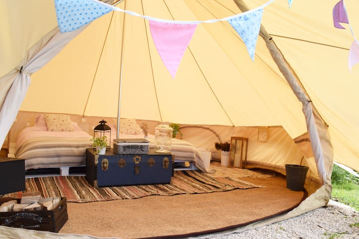 Wildflower Bell Tent