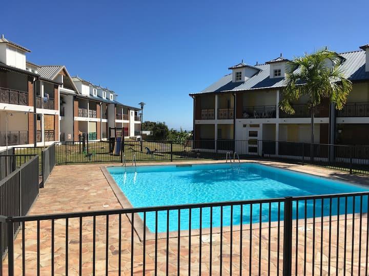 Charmant appartement 1 chambre avec piscine