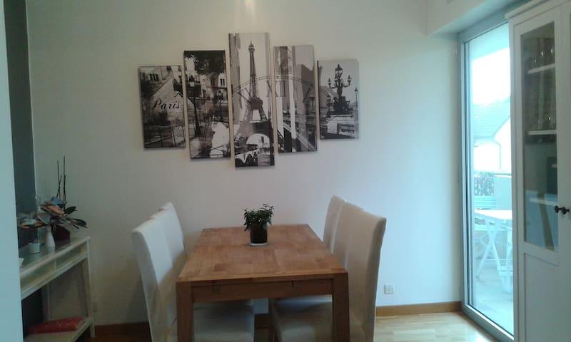 Appartement 75m2 terrasse / proche plage verte - Agneaux - Apartamento