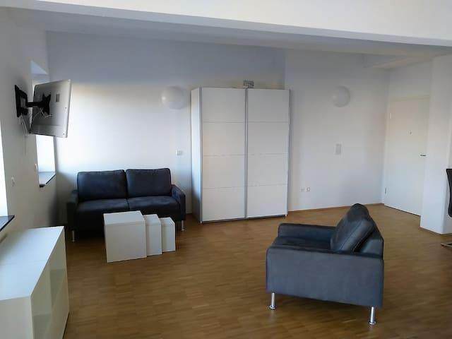Lichtdurchflutetes Apartment in Heilbronn City
