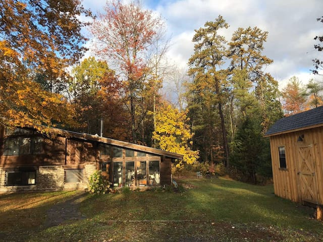 Bluestone House / a Saugerties cabin in the woods