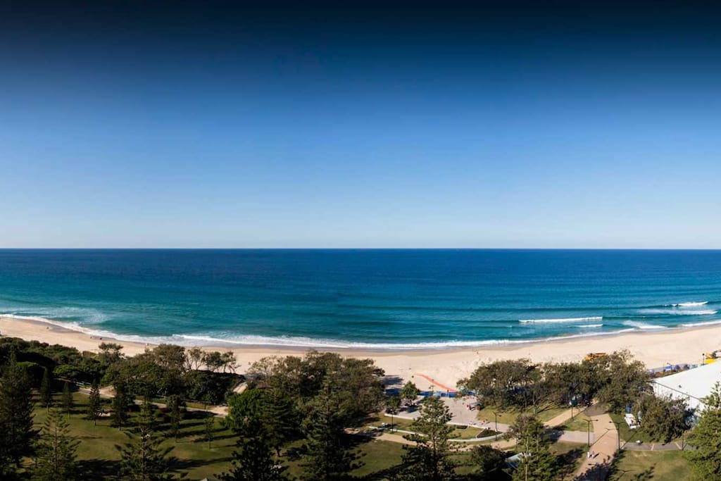 The Gold Coast beaches are some of the most gorgeous views in the world!