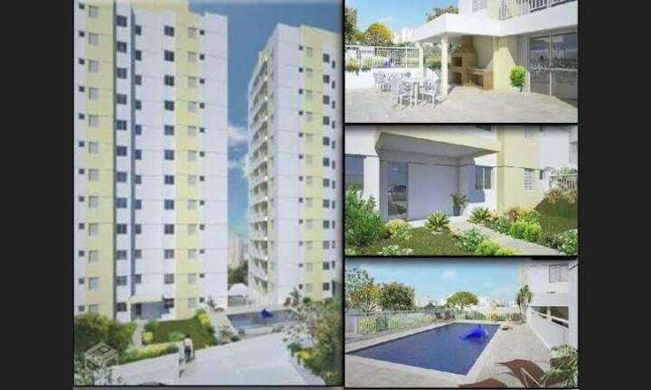 Quarto individual apartamento imobiliado