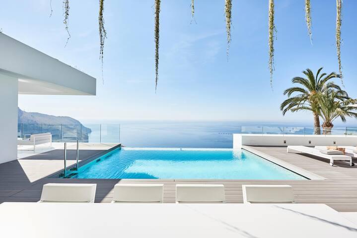 Fantastic modern house with sea views - Altea - Villa