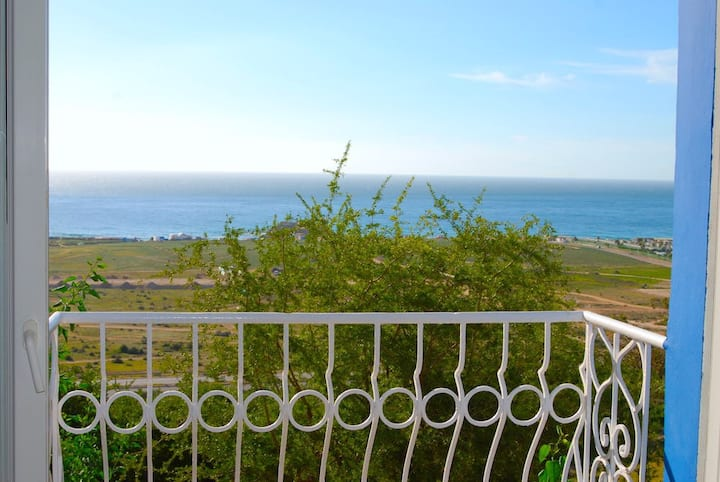 Apartment with ocean view in Taghazout