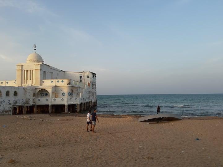 Studio marsa plage bord de mer
