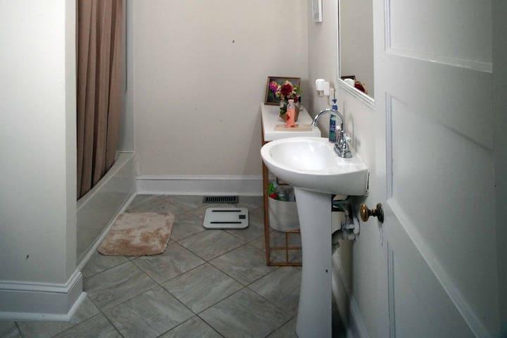 Bathroom on 1st Fl