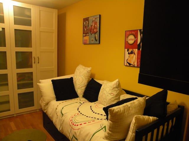 Reserva de habitación doble en casa - Olaz