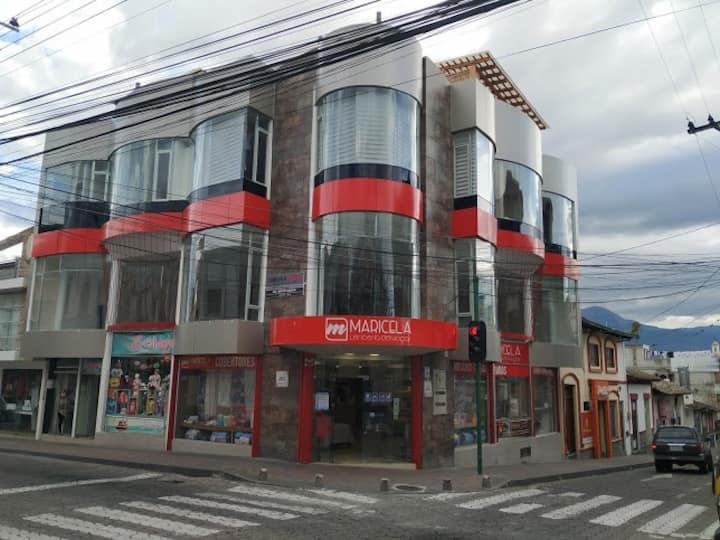 TEYFA N° 1. Descanso y buena vista en Atuntaqui