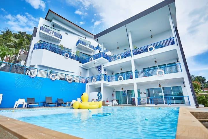 Wonderful Patong Seaview villa巴东海景别墅