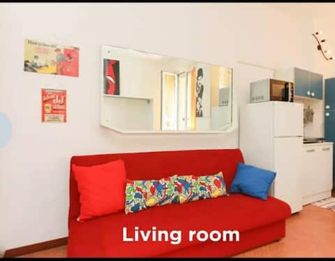 Cozy apartment red line metro