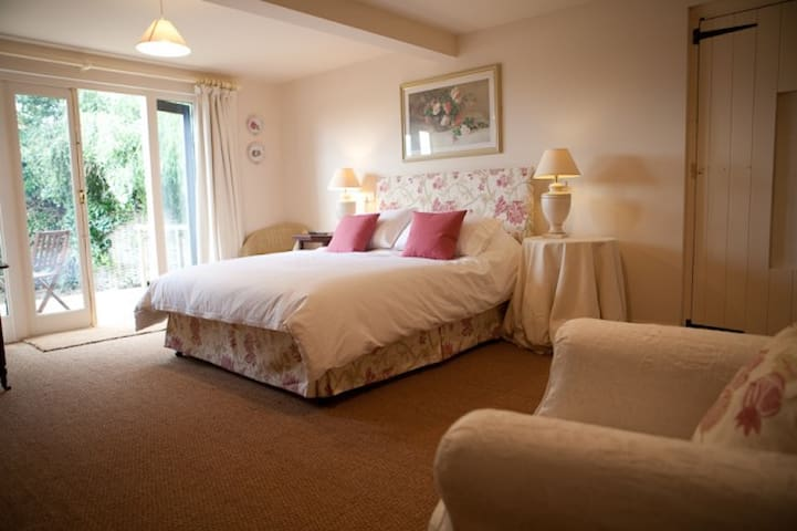 The Gardens Room 1 at The Fox Inn Darsham