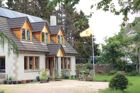 Hearthside, quiet holiday house, Grantown-on-Spey