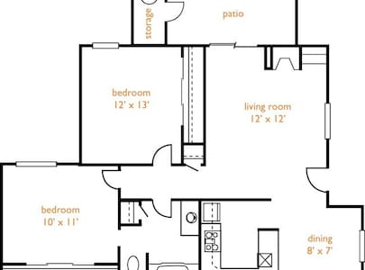 Clean, simple and comfortable place - Fair Oaks - Lägenhet