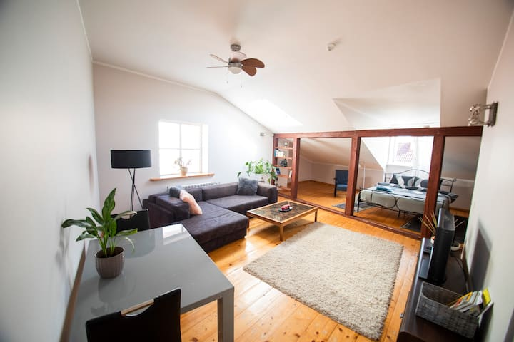 Penthouse suite - Old Town, Tartu Home apartments