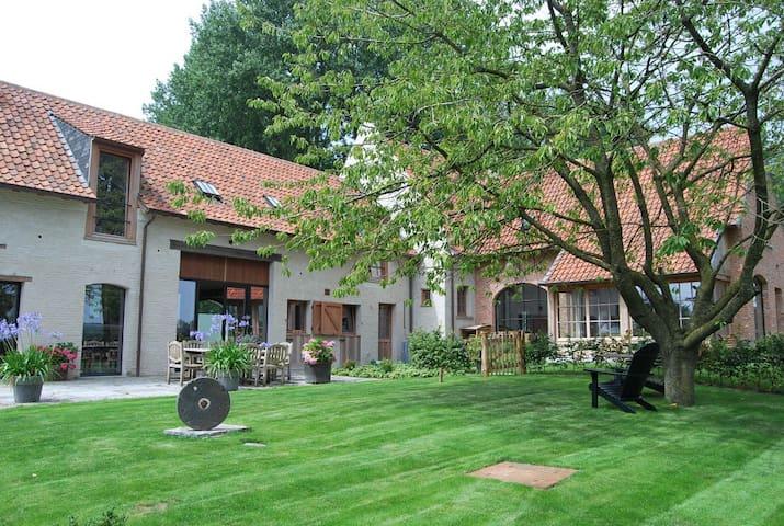 Vakantiewoning De Zonnebrug Landhuis