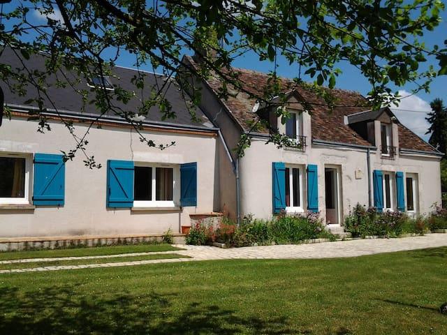 Etage de Longére aux portes de Chambord - Talcy - Huis