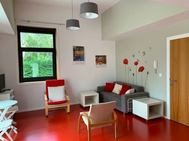 Luminoso apartamento con terraza