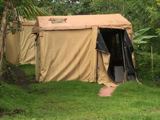 """Standard Jungle Tent Shared Bath"""