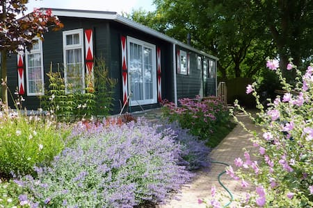 Quiet rural chalet near beach - Hellevoetsluis