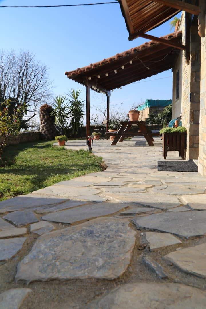 Pelion Retreat - Mountain & Sea -private garden