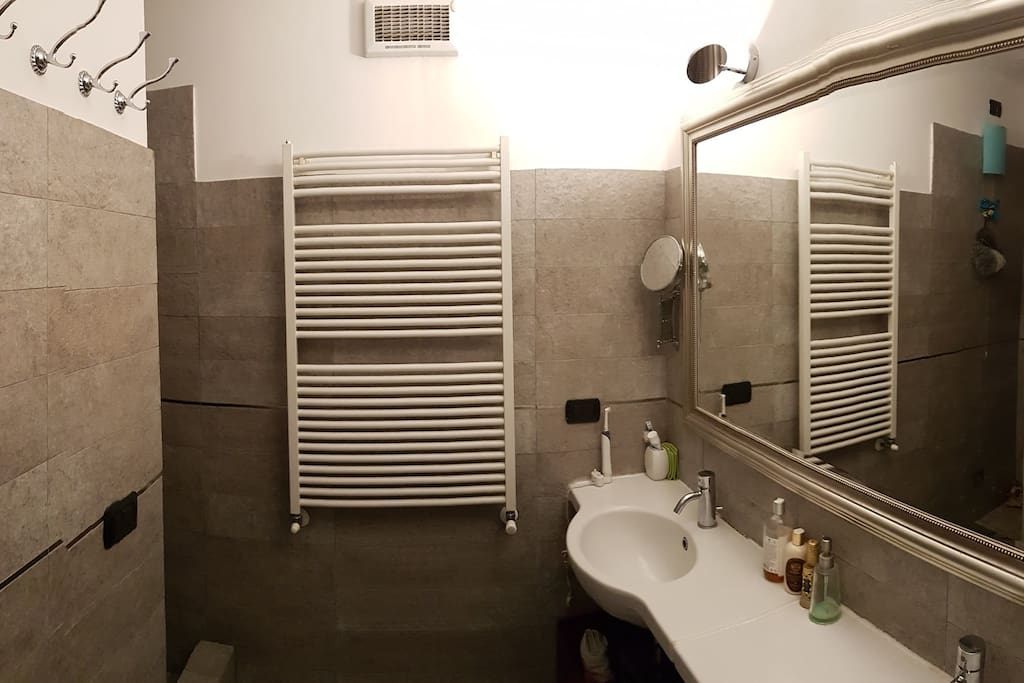 Main restroom with shower