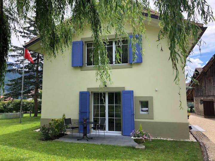 Chambre de charme spacieuse près Montreux
