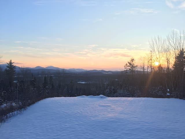 Winter sunset, January 2018