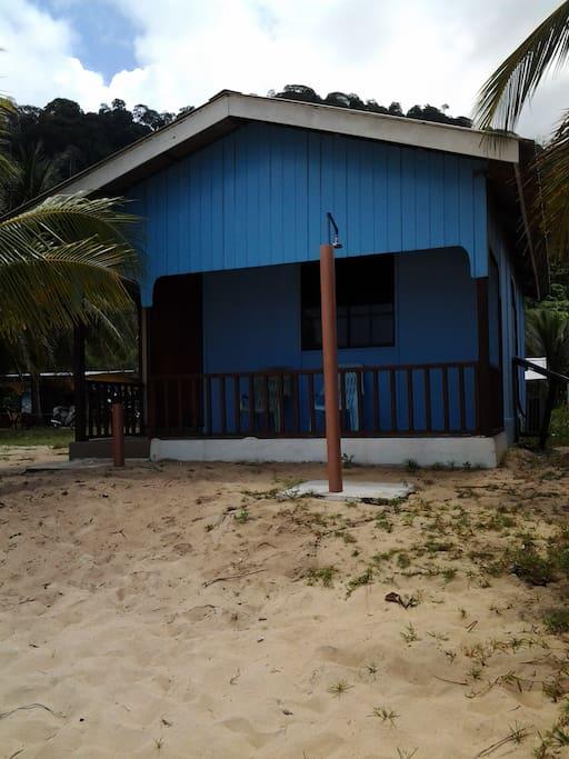 Beachfront Entrance