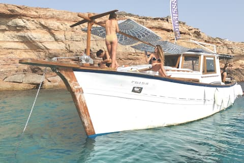 BOAT  DAY&NIGTH PORT FORMENTERA PADDLE S. 8/12 p